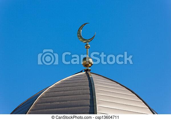 top of the minaret - csp13604711