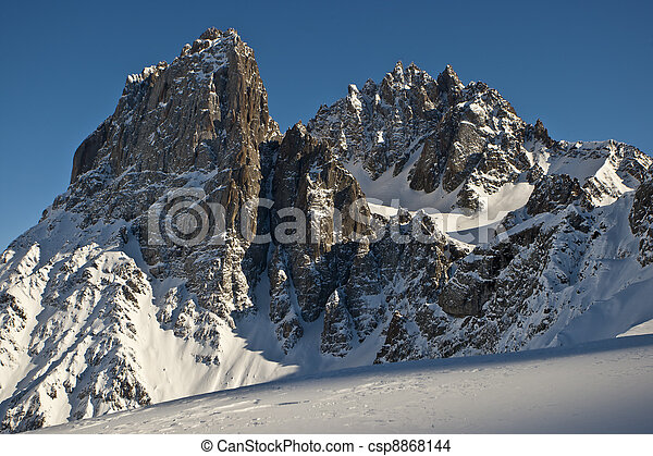 Top of the mountain - csp8868144