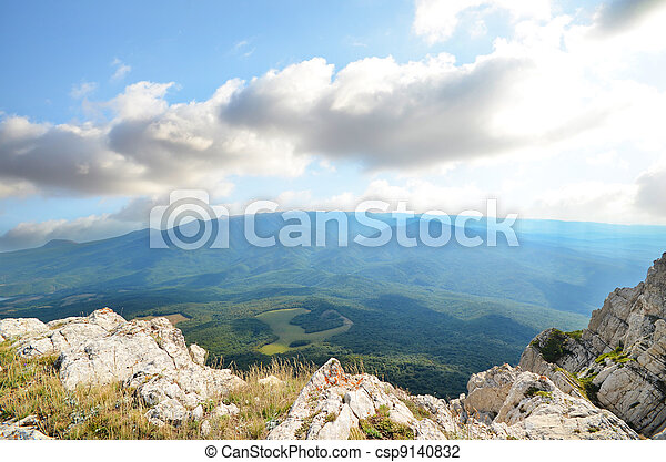 top of the mountain - csp9140832