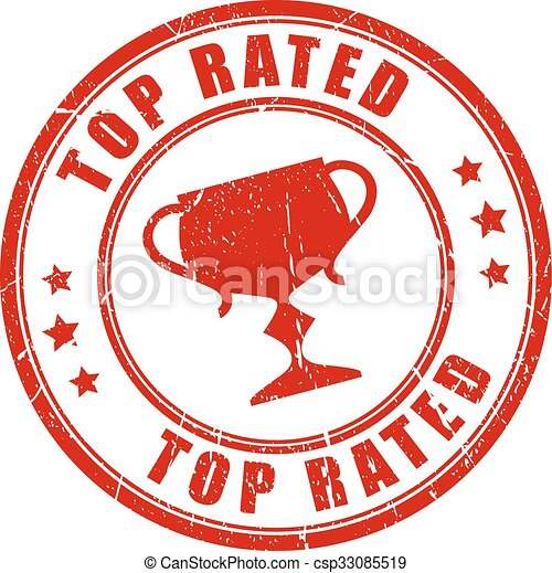 Top rated stamp - csp33085519