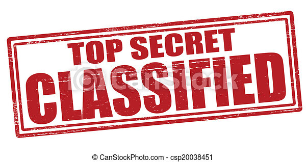 stamp with text top secret classified inside vector clipart rh canstockphoto com top secret folder clipart top secret file clipart