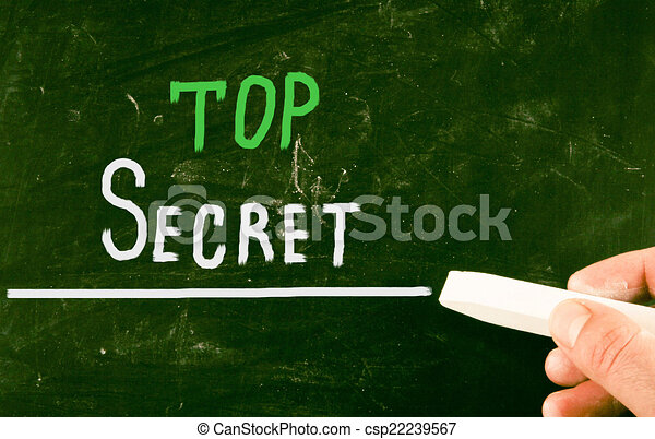 top secret concept - csp22239567