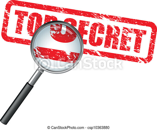 top secret - csp10363880