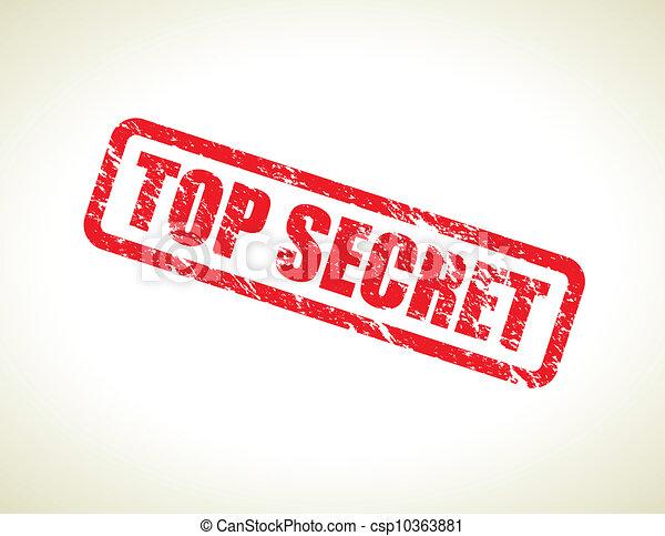 top secret - csp10363881