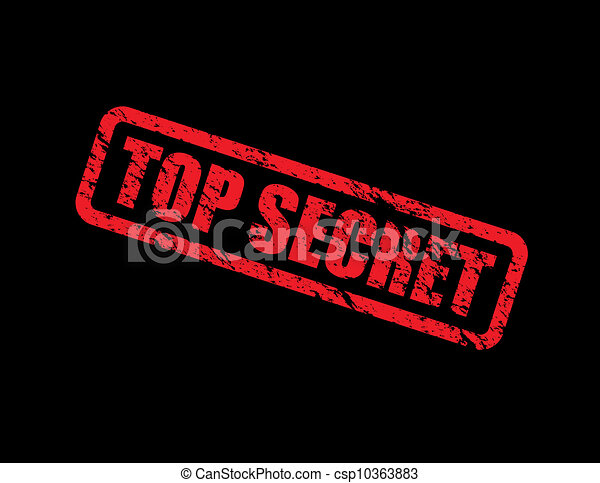 top secret - csp10363883