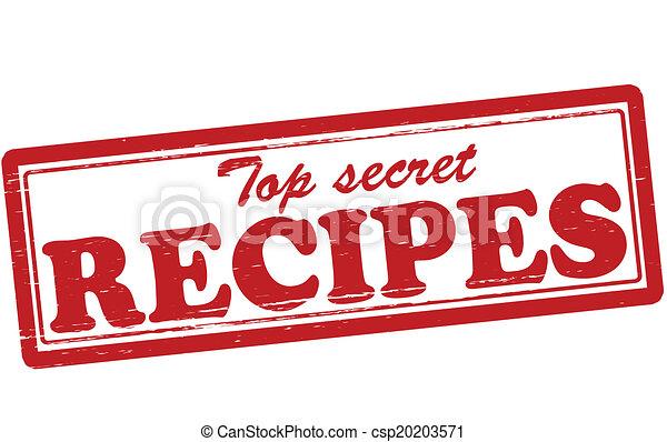 Top Secret Recipes Vector