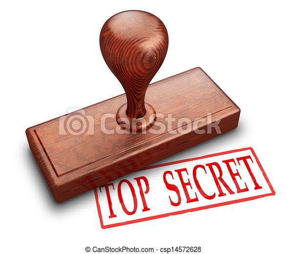 Top secret stamp - csp14572628