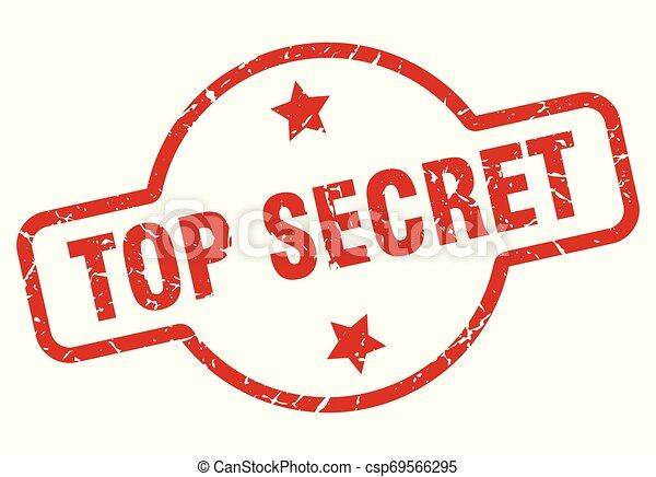 top secret stamp - csp69566295