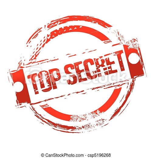 top secret stamp - csp5196268