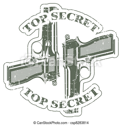 Top secret stamp - csp8283814
