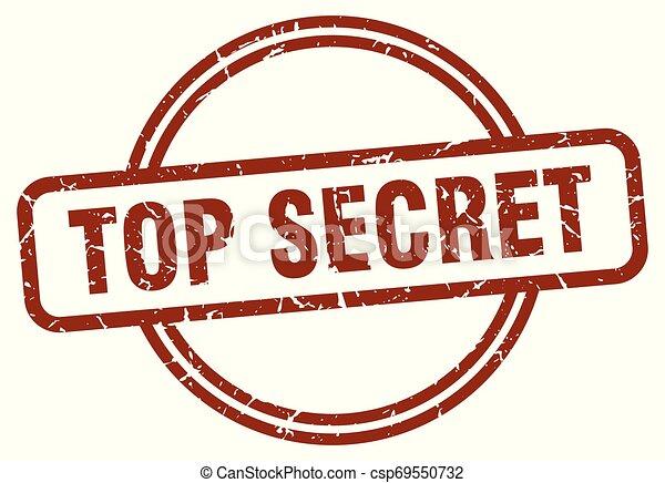 top secret stamp - csp69550732
