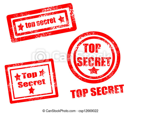 Top secret stamp - csp12669022