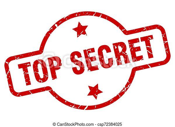 top secret stamp - csp72384025
