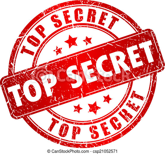 Top secret stamp - csp21052571