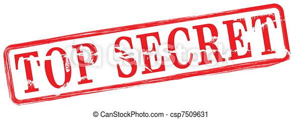 top secret - csp7509631