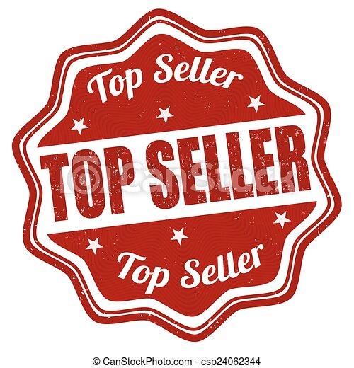 Top seller stamp - csp24062344