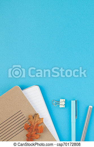 Top view back to school concept - csp70172808