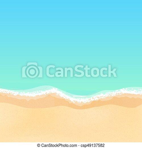 Top view of a cartoon sea beach bright sandy beach sea tide sea top view of a cartoon sea beach bright sandy beach sea tide sea voltagebd Choice Image