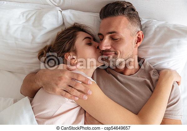 Sensual mature couple