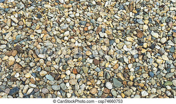 top view stone on background - csp74660753