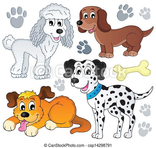 topic, imagem, cão, 3 - csp14298791