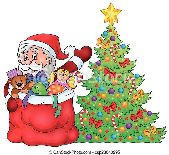 Santa Claus, imagen del tema 2 - csp23840295