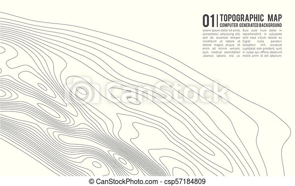 Topographic map contour background topo map with elevation contour topographic map contour background topo map with elevation contour map vector geographic world gumiabroncs Choice Image