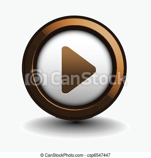 toque música, ícone - csp6547447