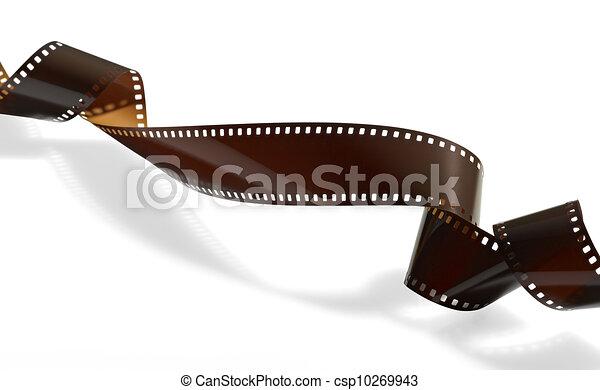 tordu, ou, vidéo, pellicule, photo, enregistrement - csp10269943