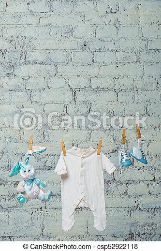Torka, leksak, stövel, underbyxor, mot, bodik, rep, barns