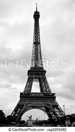 torn, eiffel, paris, frankrike - csp0205482