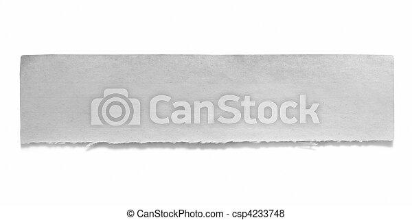 Torn Paper Banner - csp4233748