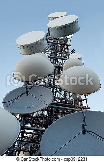 torn, telekommunikation - csp0912231