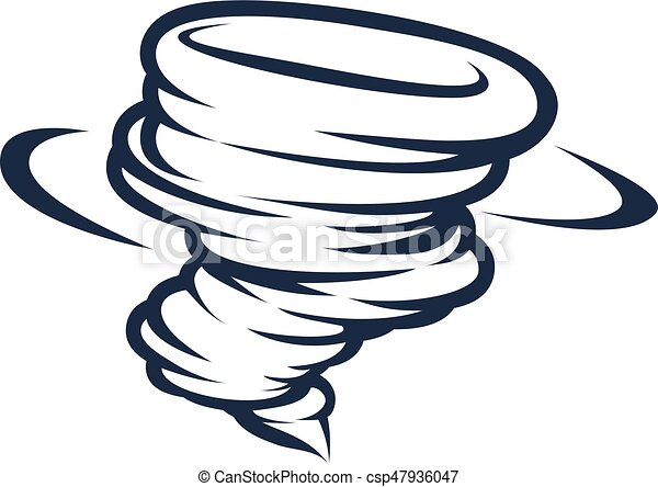 Tornado Cyclone Hurricane Twister Icon 47936047 on Weather Or Not Clipart Download
