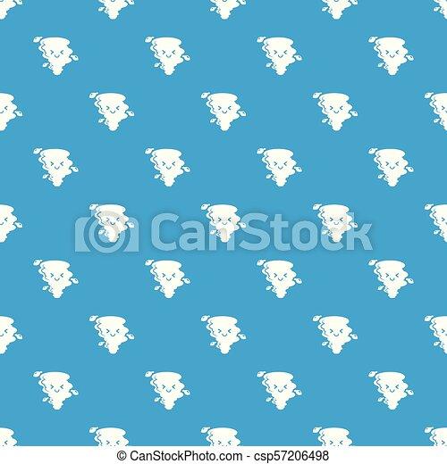 Vector de patrones de tornado azul marino - csp57206498
