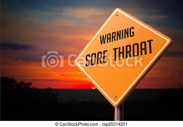 torok, fájó, cégtábla., figyelmeztetés, út - csp25314201