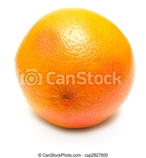 Grapefruit en blanco - csp2827600
