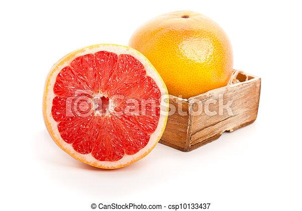 Fruta en blanco - csp10133437
