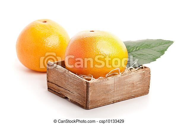 Fruta en blanco - csp10133429
