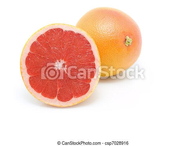 Fruta en blanco - csp7028916
