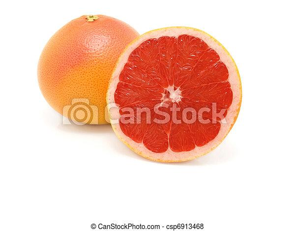 Fruta en blanco - csp6913468