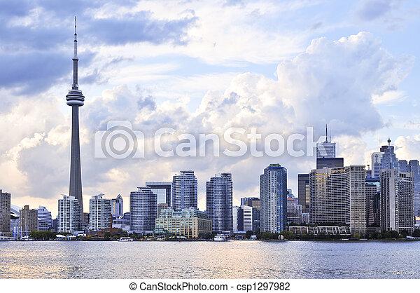 Toronto skyline - csp1297982