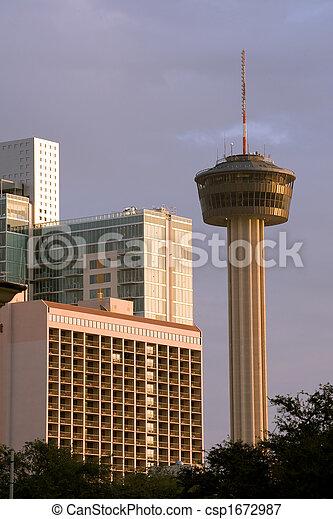 Torre de América - csp1672987