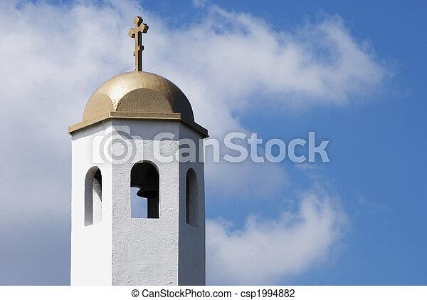 Torre de campanas de la iglesia - csp1994882