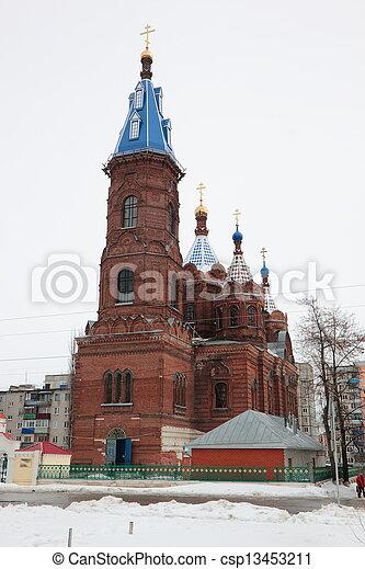 El campanario de la catedral. - csp13453211