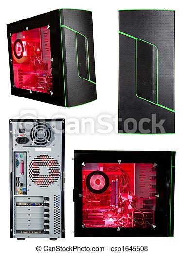 Torre de computadora aislada - csp1645508