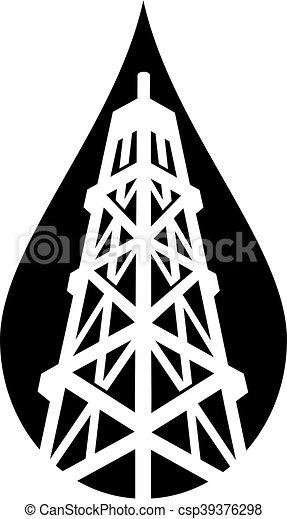 Aceite Derrick - csp39376298