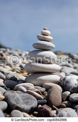 Torre de piedra - csp40842986