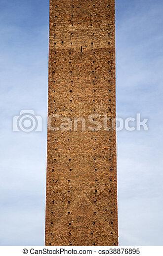 Torre del Mangia in Siena, Italy - csp38876895