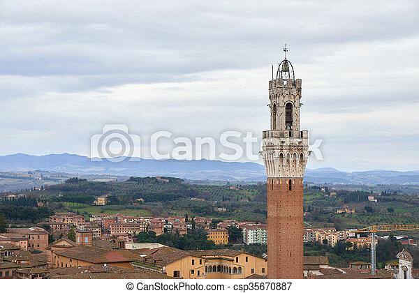 Torre del Mangia - csp35670887